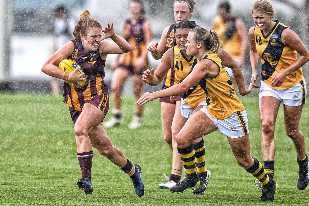 WAWFL Action, Subiaco Vs Claremont Tigars